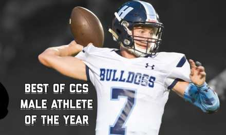 Hampton's Jones honored as Male Athlete of the Year