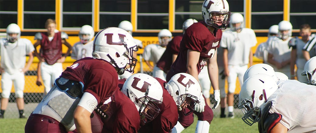 Problems on the Creek with Unaka football?