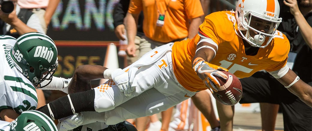 Vols move to 3-0 with win over Ohio