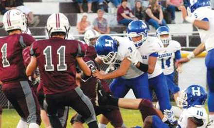 Rangers unable to keep pace with Harriman