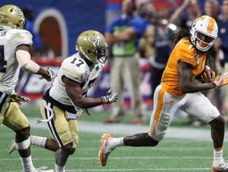 Tennessee Football vs. Georgia Tech