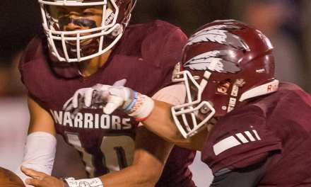 Warriors upended at Meigs County