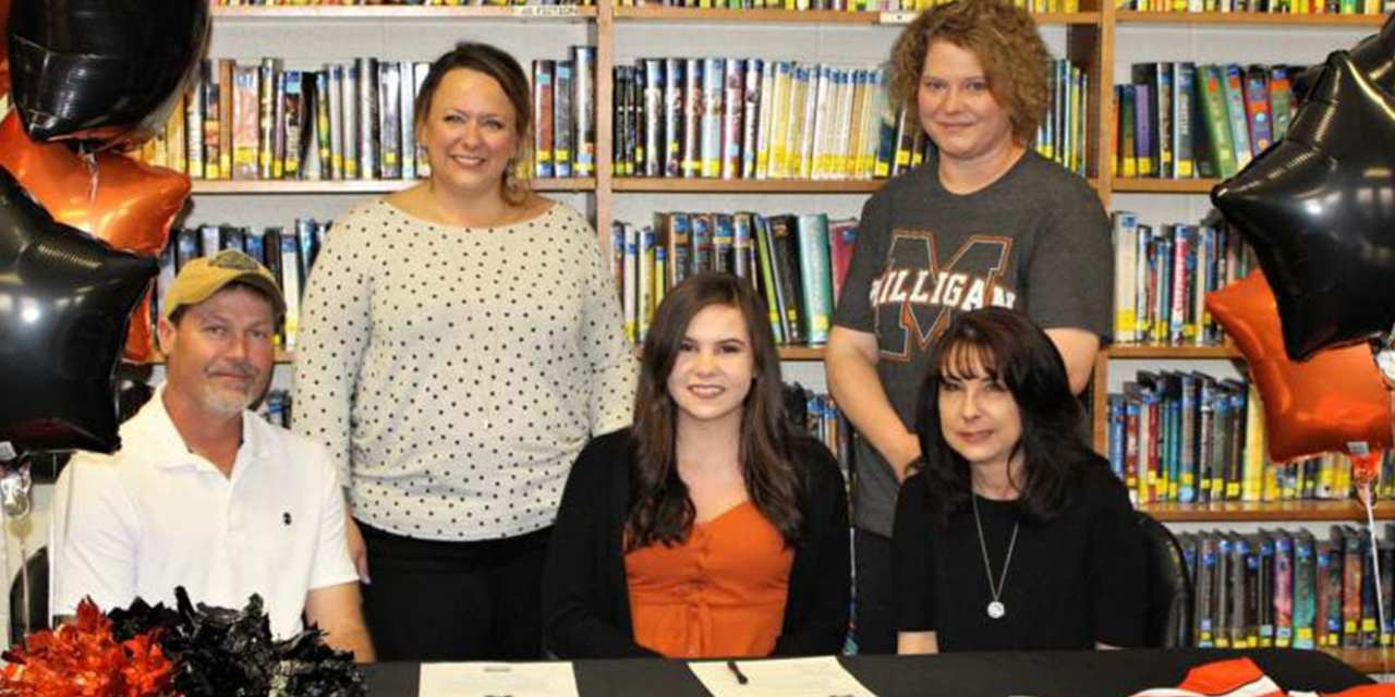 Cloudland's Barnett signs with Milligan