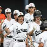 Cyclones win two to keep alive in state tournament