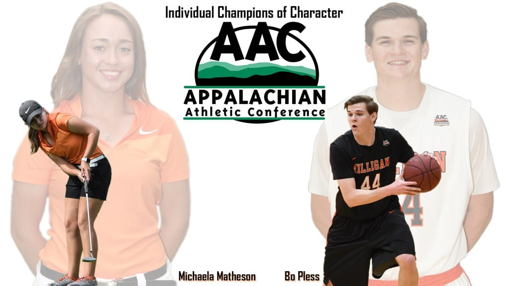 Matheson and Pless honored by AAC