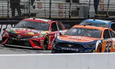 Photo Gallery: Busch outlasts brother, field for Food City 500 win