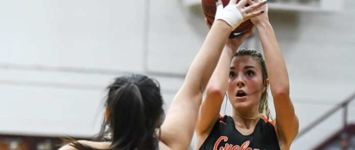 Lady Cyclones outlast East in 2 OT thriller