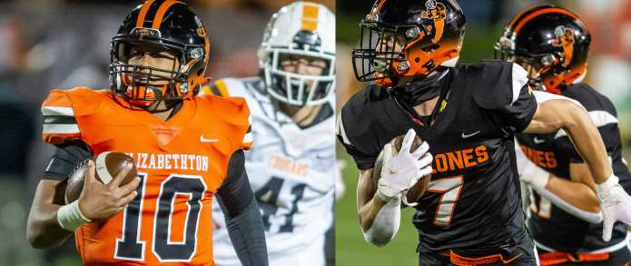 Hughes, Rollins named finalists for Class 4A Mr. Football Award