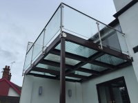 Glass Floor Balcony Gallery | Carter Fabrications