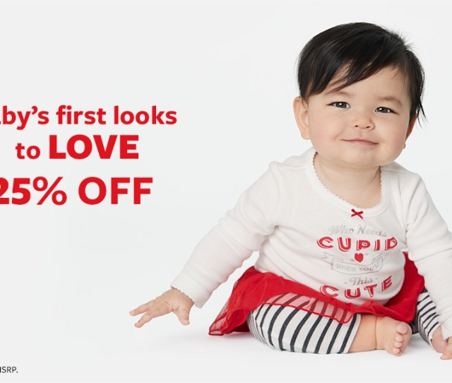 Baybs First Looks To Love  Off Savings Based On Msrp