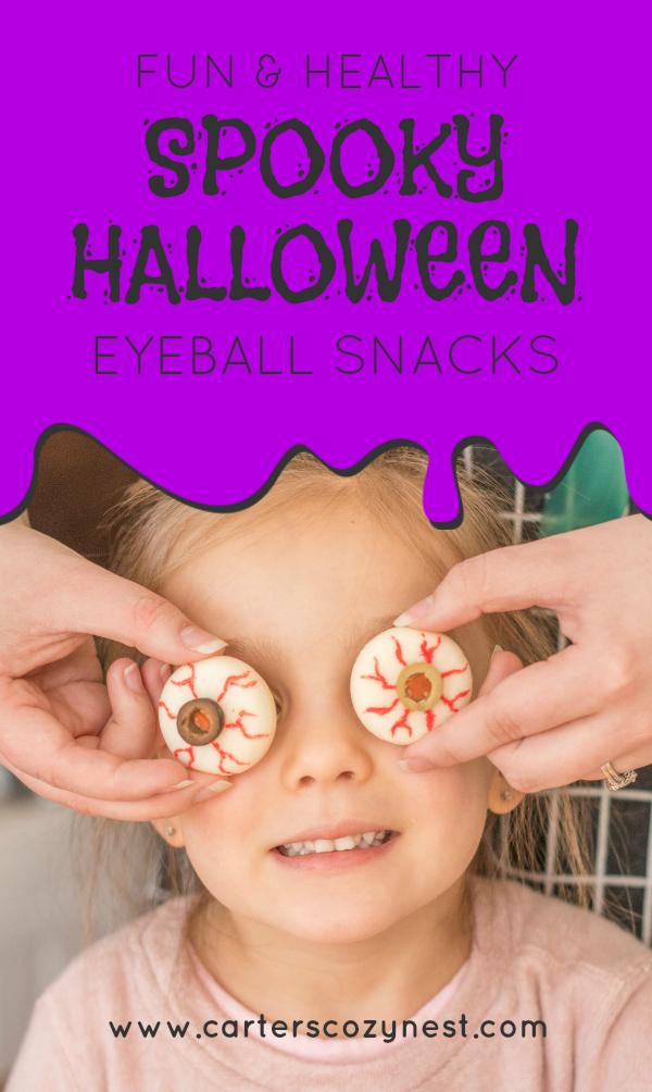 Spooky Mini Babybel® Eyeballs