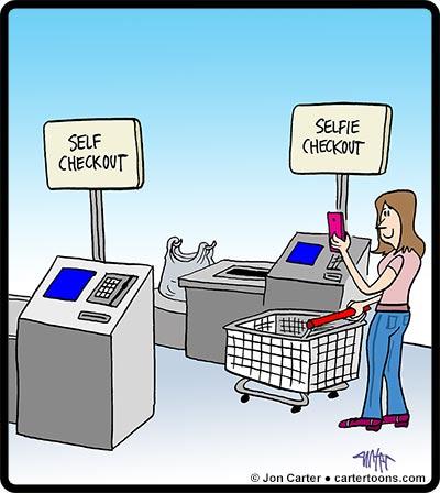 Selfie-Checkout
