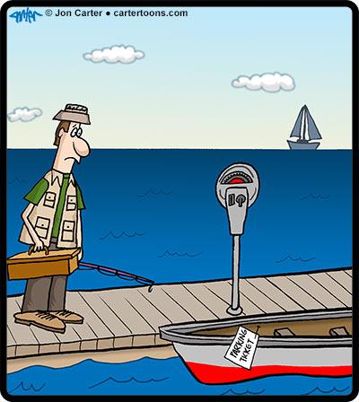 Fishing-Ticket