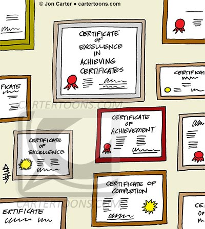 Certificate-Achievements