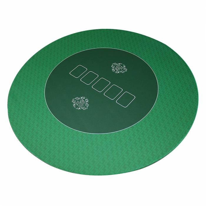 tapis de poker bullets en jersey neoprene rond 70 cm de diametre