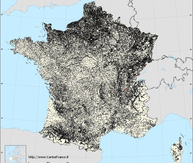 Amberieu En Bugey Sur La Carte Des Communes De France