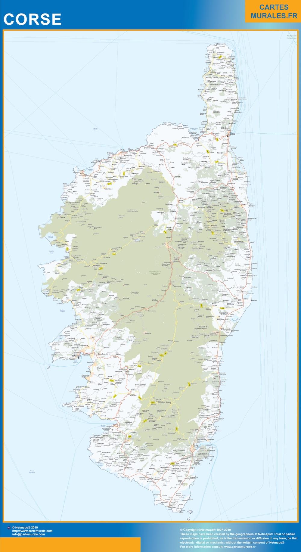cartes regions france cartes murales
