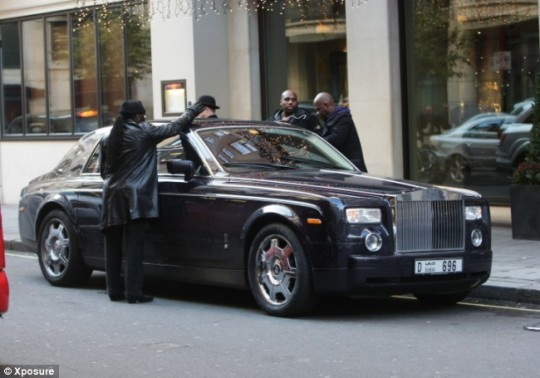 50 Cent Rolls Royce Phantom