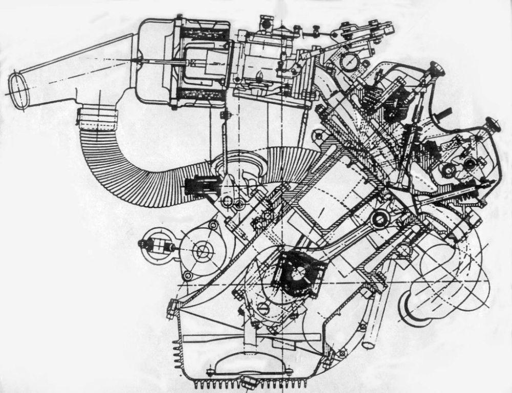 medium resolution of obsolete engines 101 the mythical v4 rh carthrottle com 4 6l engine diagram v4 cylinder engine
