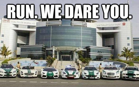 Dubai police force