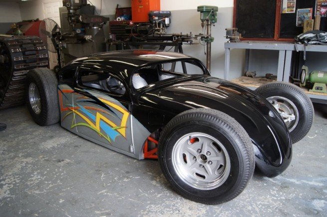 Vintage Fender Jaguar Wiring Insane Gsxr Powered Beetle Proves That Not All Hot Rods