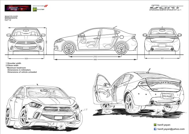 Ford focus estate 2005 dimensions