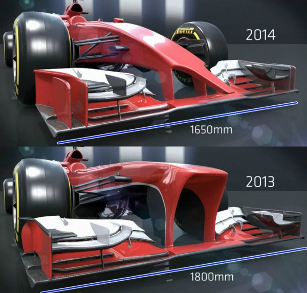2014 F1 Season Ugliest