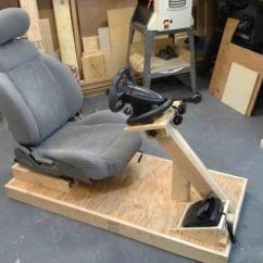 Racing Simulator Chair Plans Springs For Dining Chairs How To Build Your Very Own Kick Ass Sim Set Up 2