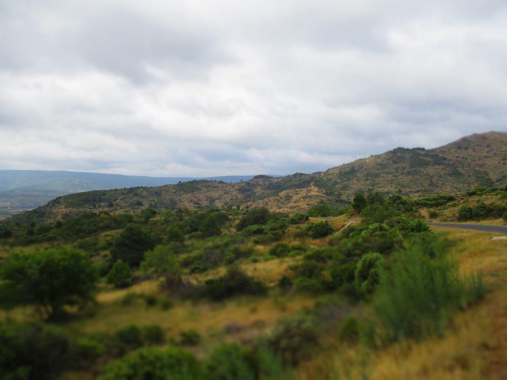 Un paysage des Corbières