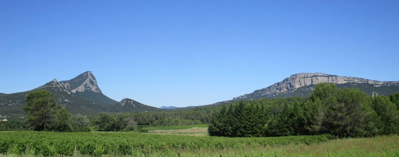 Le Pic Saint-Loup et la Montagne de l'Hortus