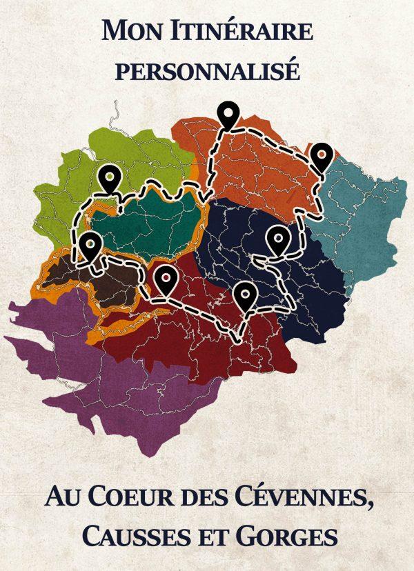 Image titre de l'itinéraire personnalisé dans les Cévennes
