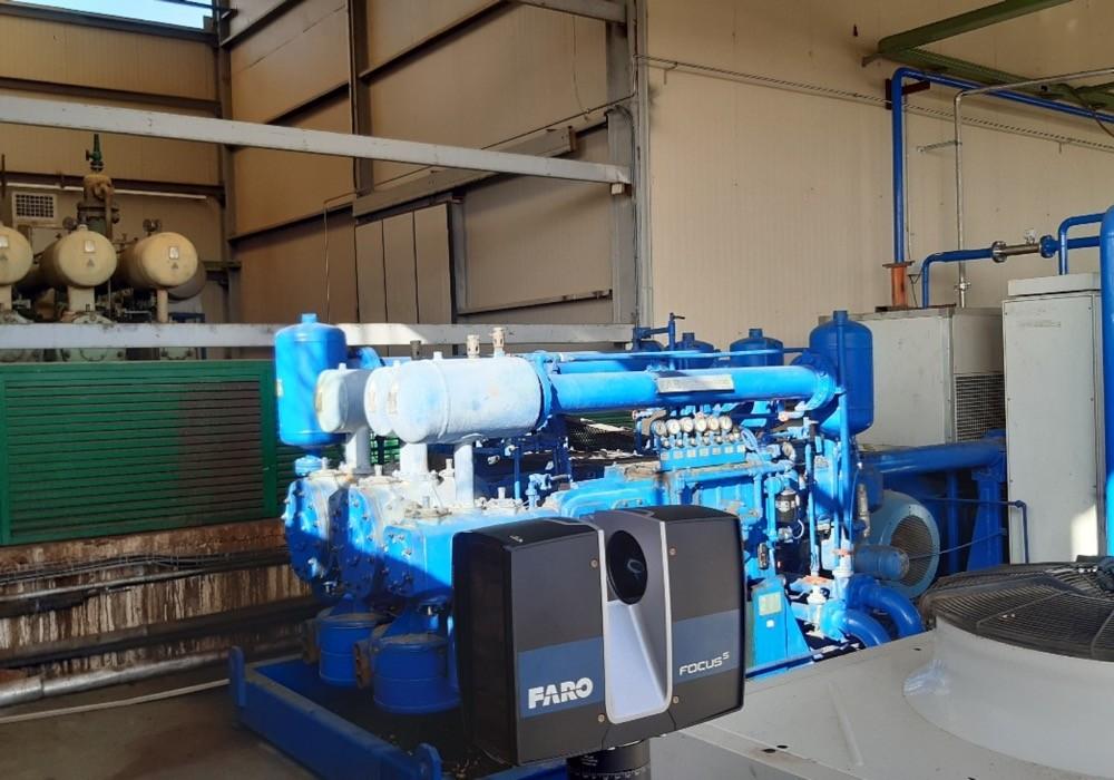 Trabajos de Escáner 3D en planta industrial de Castellón 3