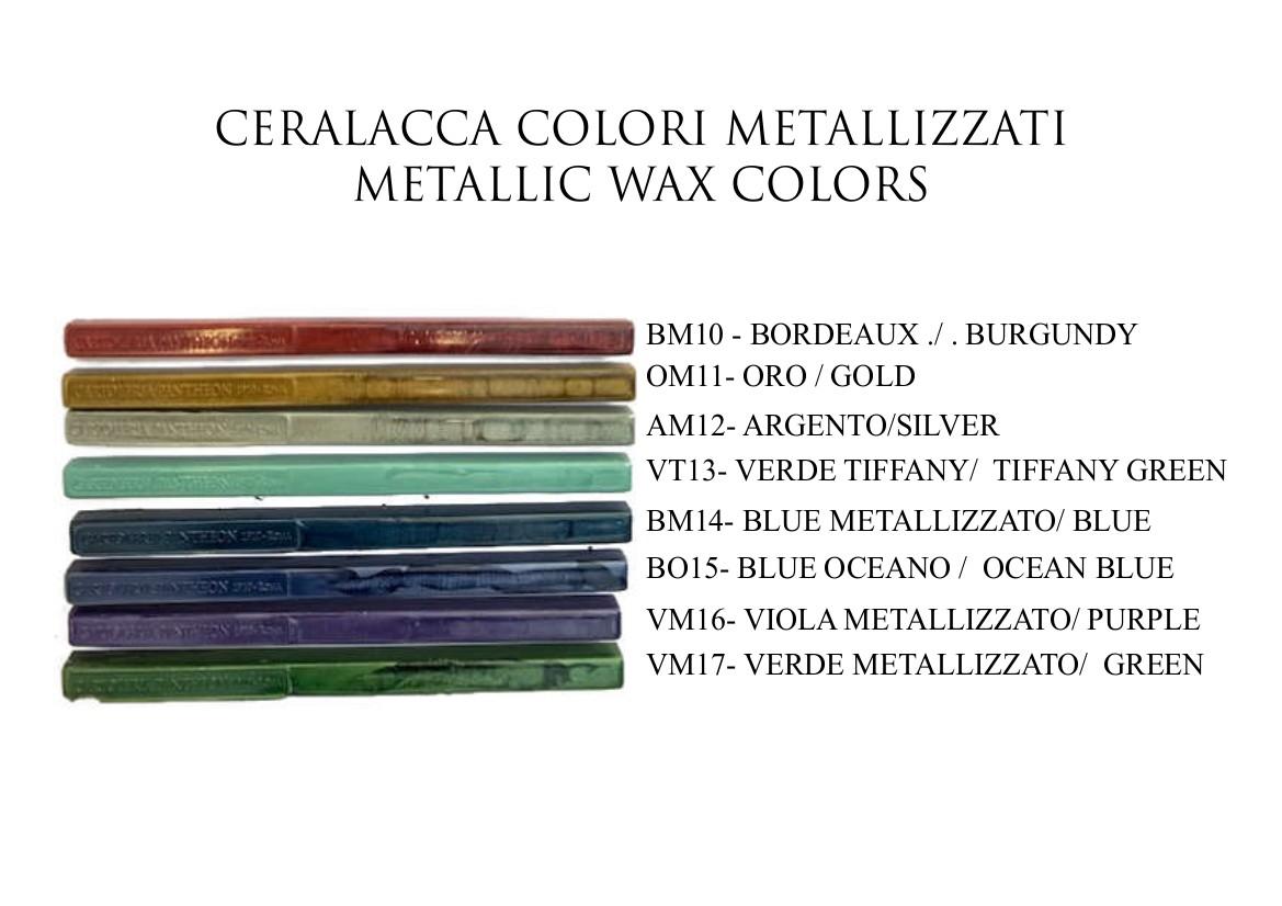 PUQU Ceralacca in ceralacca con stoppini in stile vintage 26 colori assortiti