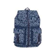 Zaino con tasche anteriori - Blu - Keith Haring