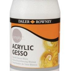 Gesso acrilico DALER ROWNEY acrylic gesso