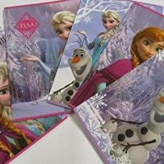 Confezione da 10 quaderni Frozen 1 e 2 elementare