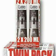 confezione in cartone da 2 pezzi di olio classico 200 ml bianco di titanio