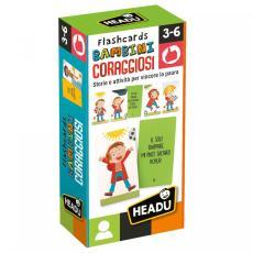 Giochi Headu - Flashcards Bambini Coraggiosi