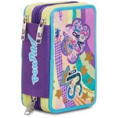 Astuccio 3zip PenPad MulticolorGirl