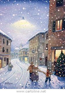 Profumo di neve per Natale