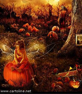 Magico Halloween nel sottobosco