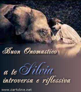 Onomastico di Silvia con note caratteriali