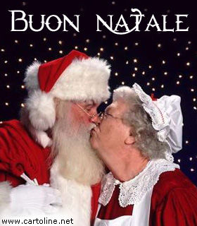 Curare il biglietto che accompagna il regalo, perché sia un vero messaggio d'amore. Babbo Natale Innamorato