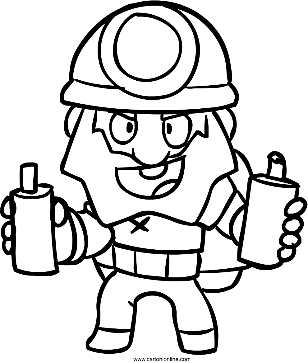 Coloring Pages Brawl Stars Boyama Coloring And Drawing