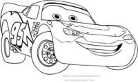 personaggi cars da colorare cartoni animati