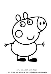 Disegni Di Peppa Pig Da Colorare Riguarda Giochi Di