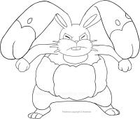 Disegni Di Pokémon Da Colorare Disegno Di Gumshoos Dei Pokemon