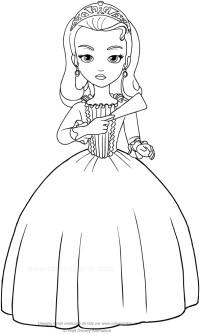 Disegno della Principessa Amber (Sofia la principessa) da ...