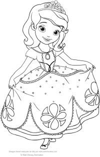 Da Colorare Per Principessa Da Stampare Disegni Da ...