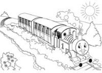 Disegni del Trenino Thomas da colorare